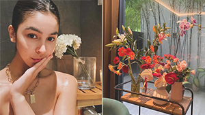 We're Seriously Into Julia Barretto's Fresh Flower Arrangements At Home