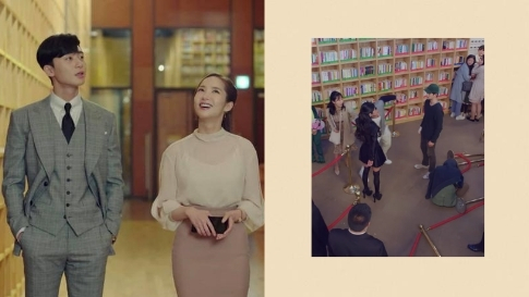 We Found the IG-Worthy Library That's Always Featured in K-Dramas