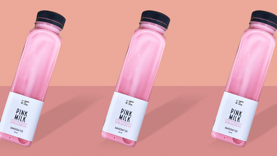 "FYI, ""Pink Milk"" Exists and It Looks Too Pretty to Drink"
