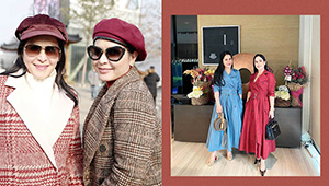 Jinkee Pacquiao And Her Sister Janet Jamora Are Literally Twinning In Designer Ootds