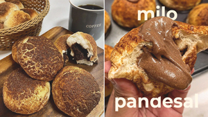 This Pandesal Is Stuffed With Milo Filling And It Tastes Like Childhood