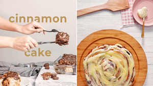 Brace Yourselves: We Found A Giant Cinnamon Roll That's As Big As A Cake