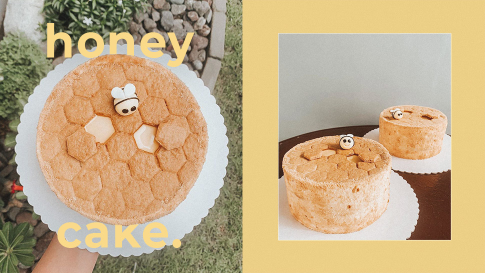 This Honey Cake Looks Like a Beehive and It's Almost Too Cute to Eat
