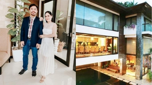 Manny And Jinkee Pacquiao Are Selling Their P1.5b Forbes Park Mansion