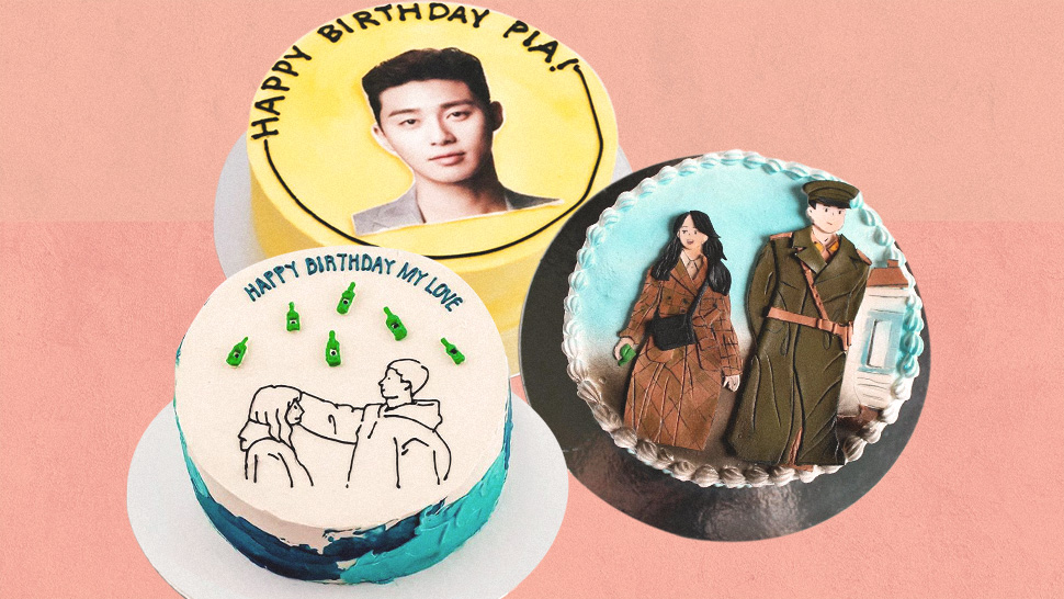 K-Drama Fans, You Have to See These Cute Cakes Featuring Your Fave Shows