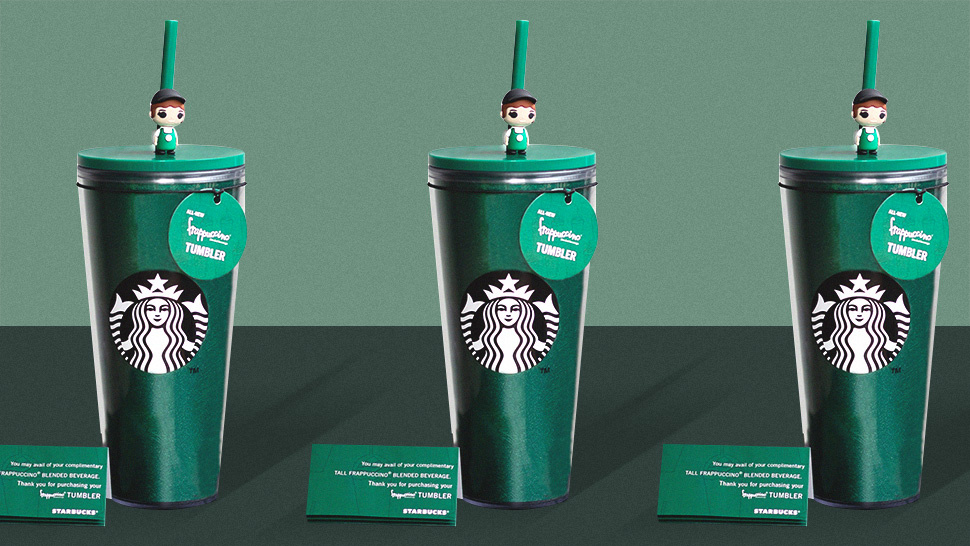 PSA: Get 10 Free Drinks from Starbucks When You Buy Their New Frappuccino Tumbler