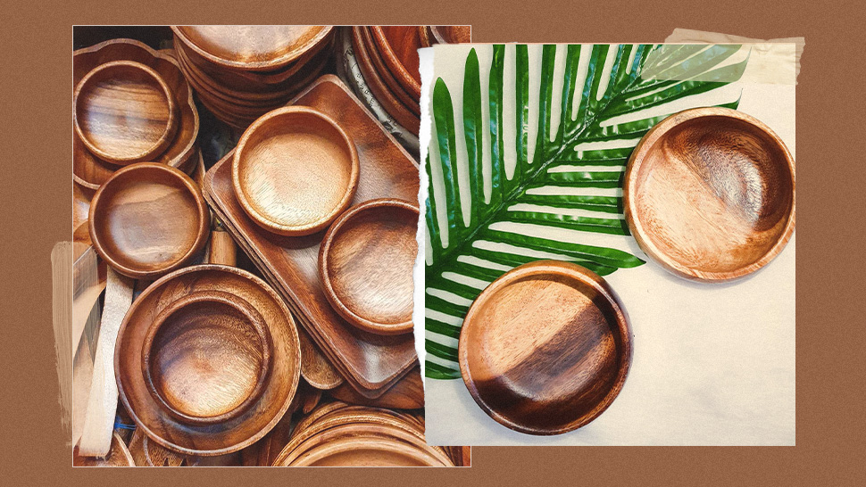 Here's Where You Can Score Wooden Plates And Bowls For As Low As P55