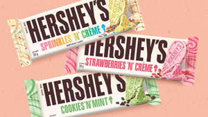 Hershey's Cookies 'n' Creme Now Come In New Flavors Inspired By Ice Cream