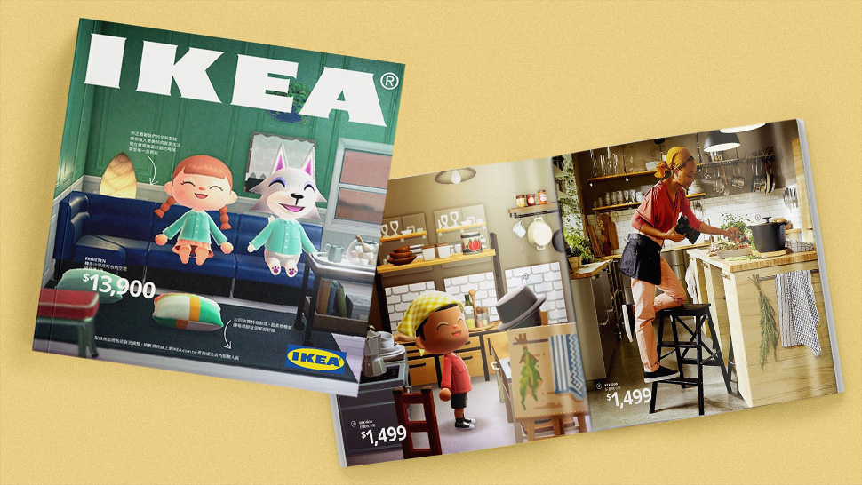 Ikea Just Recreated Their Catalog In Animal Crossing And We're Completely In Awe