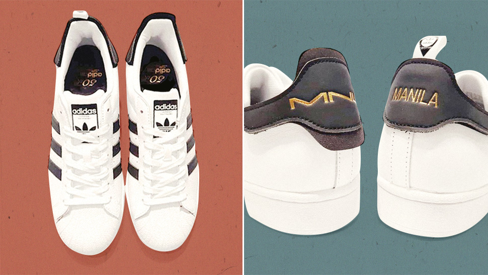 """The Adidas Superstar Gets A """"manila"""" Treatment For Its 50th Anniversary"""