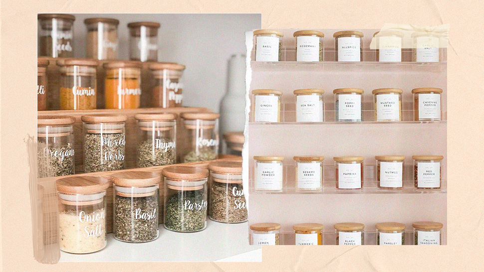 Here's Where You Can Get Chic Labeled Jars for Organizing Your Kitchen