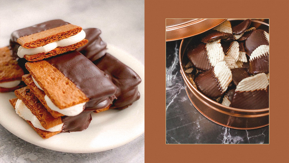 This Online Shop Sells Yummy Choco-Dipped Snacks Like S'mores and Potato Chips