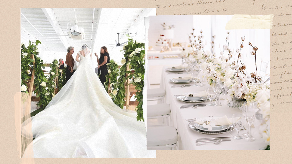 This Minimalist All-White Studio Is Perfect If You're Having an Intimate Wedding