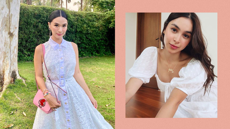 10 Celebrities Who'll Convince You That White Dresses Always Look Fresh