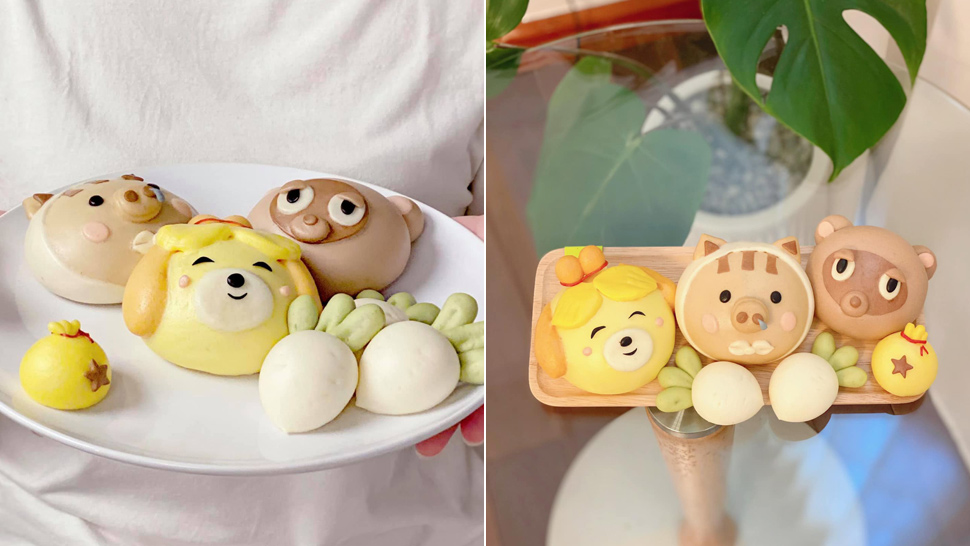This Filipina Gamer Made Mantou Buns Inspired by Animal Crossing