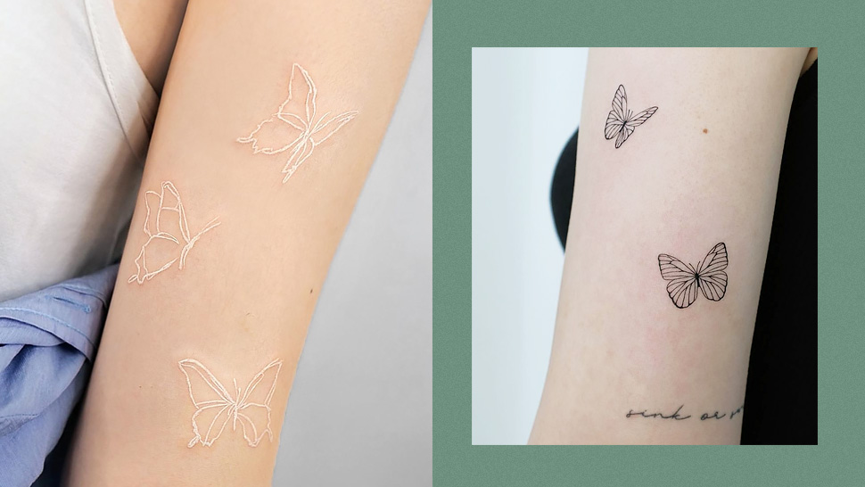 25 Butterfly Tattoo Designs That Will Make Your Heart Flutter