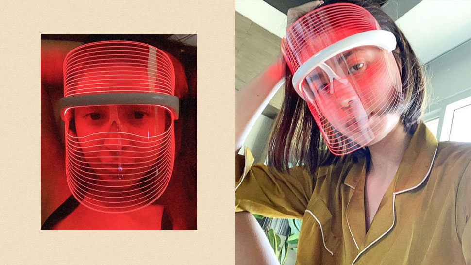 What You Should Know About the LED Light Mask That's All Over IG