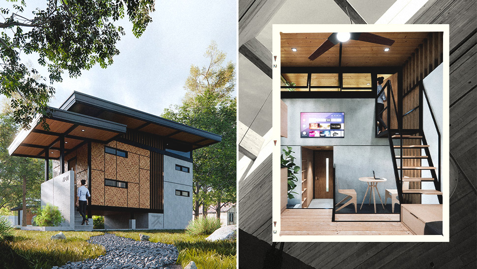 You Have to See This Tiny House Design That Looks Like a Modern Bahay Kubo