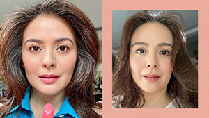 Dawn Zulueta Isn't Afraid To Show Off Her Gray Hair And We're Here For It