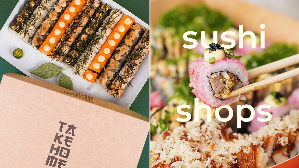 Get you Sushi Fix Delivered from These Stores Around Manila