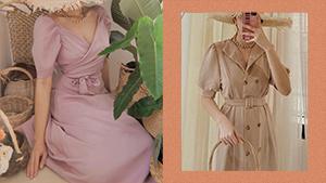 This Online Ukay-ukay Sells The Prettiest Vintage-style Puff-sleeved Dresses