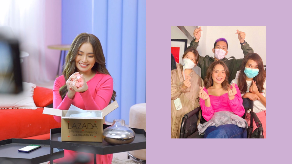 Kathryn Bernardo's Latest Vlog Documents How Shoots Are Done in the New Normal