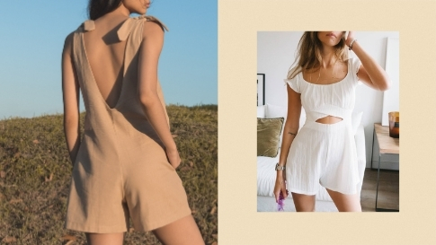 10 Comfortable Rompers To Shop For A Quick, Laidback Outfit