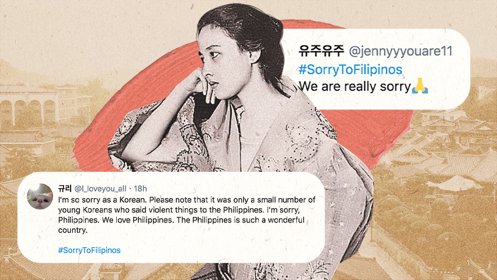 Koreans Respond To #cancelkorea With #sorrytofilipinos