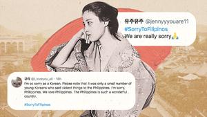 Koreans Respond To #cancelkorea With #sorrytofilipinos