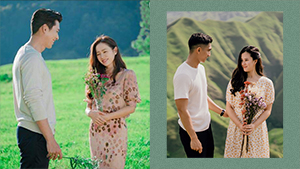 This Couple's Breathtaking Prenup Shoot Is Inspired By