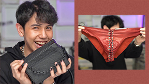 Bj Pascual's Fave Designer Items Include Leather Underwear And High Heel Boots