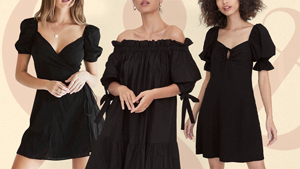15 Comfy, Laidback Little Black Dresses That Are Made For Lounging
