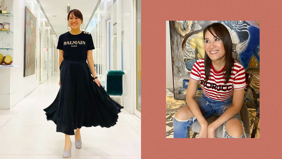Here's Dr. Aivee Teo's Fun Prescription For Styling Graphic Tees