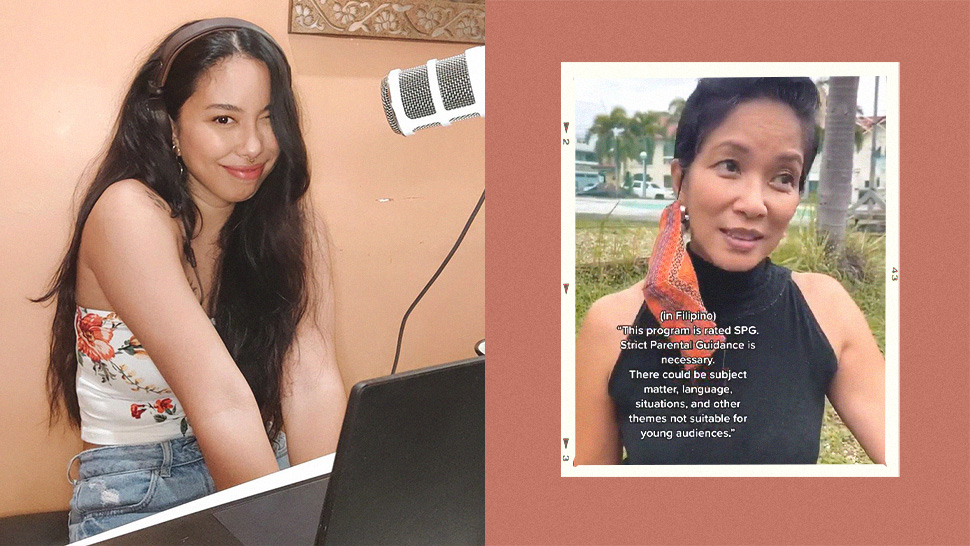 Turns Out Inka Magnaye's Aunt Is The Voice Behind The Mtrcb Advisory And We Are Still In Shock