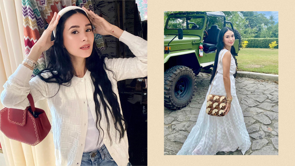 White Outfit Ideas From Heart Evangelista That Always Look Classy