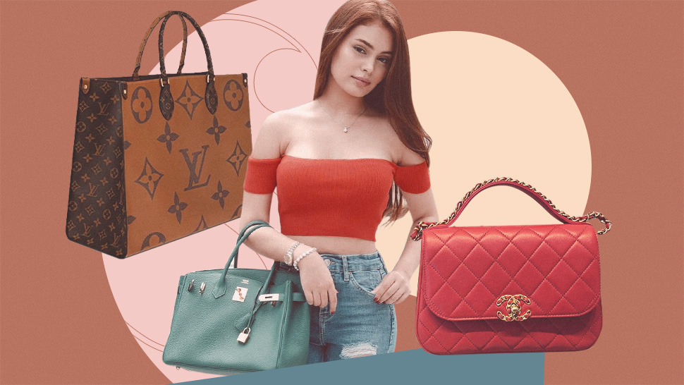Ivana Alawi's Designer Bag Collection Includes A Birkin And A Lot Of Louis Vuitton