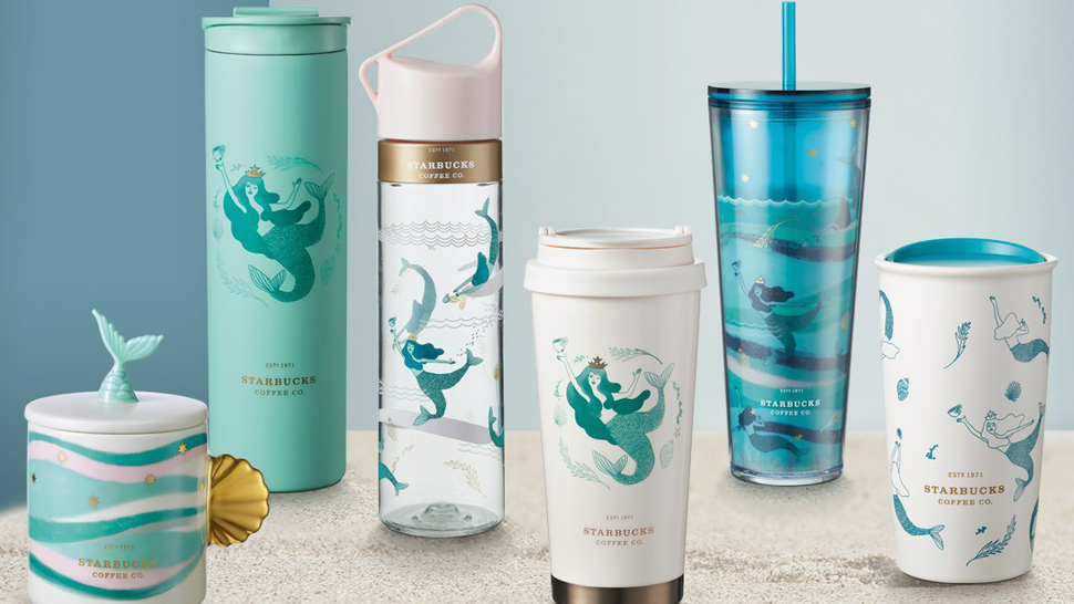 Starbucks' Just Released A Mermaid-themed Tumbler Collection And We're In Love