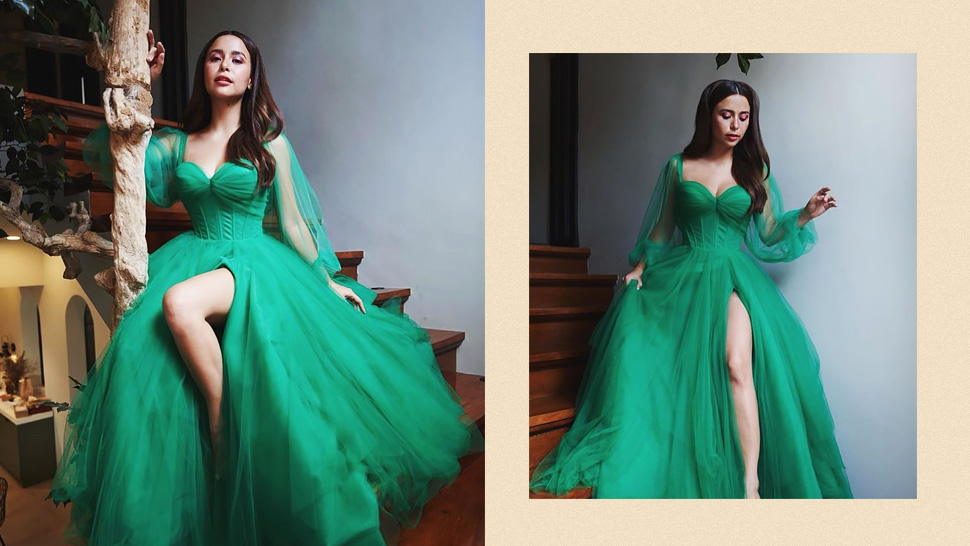 Yassi Pressman's Dreamy Green Gown Is the Stuff of Fairytales