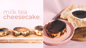 Love Milk Tea? Then You Need To Try These Cheesecakes Asap!