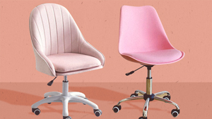 These Pretty Pink Office Chairs Are Perfect For Your Aesthetic Home Office