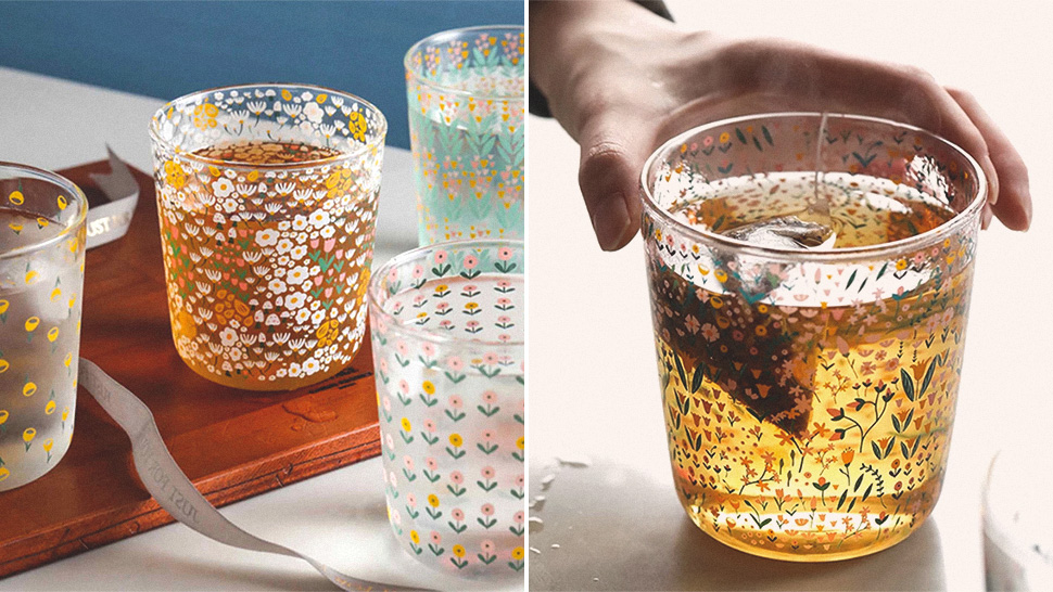 These Floral Cups Below P400 Will Add a Dainty Touch to Your Tablescape