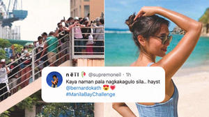#manilabaychallenge: All The Celebrities We Spotted Enjoying Ph's New White Sand Beach