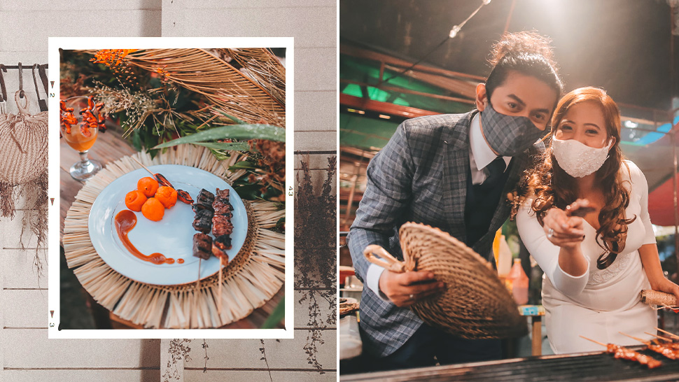 This Couple Had Classic Pinoy Street Food for Their Wedding Reception
