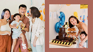 Liz Uy's Son Xavi Just Turned Three And He Had The Cutest Birthday Party