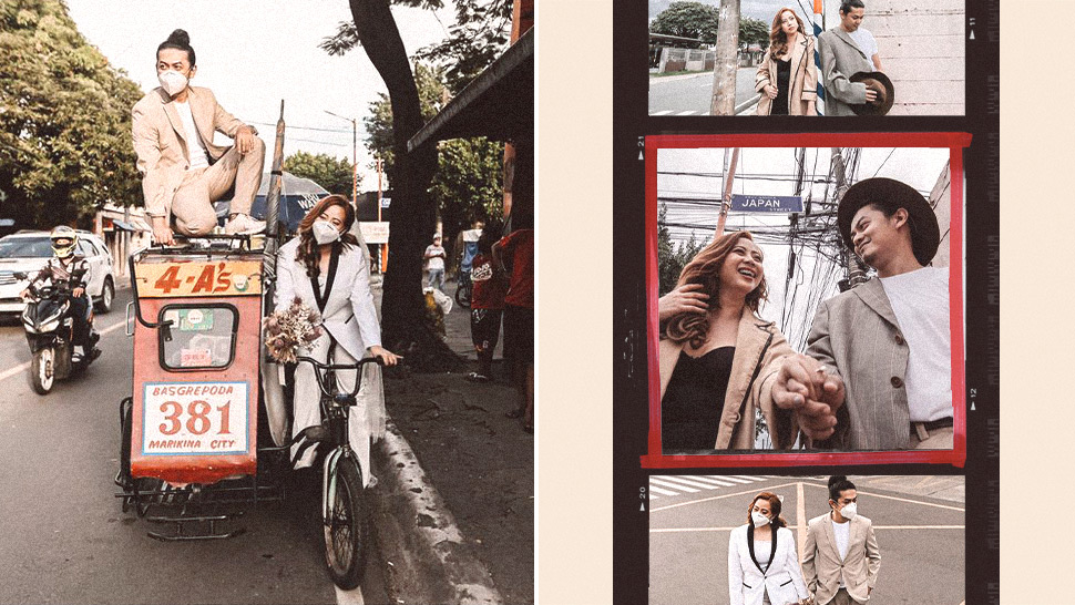 This Couple Traveled Around The World In A Pedicab For Their Prenup Shoot