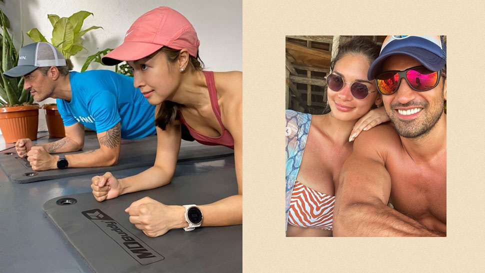 These are 14 of the Fittest Celebrity Couples