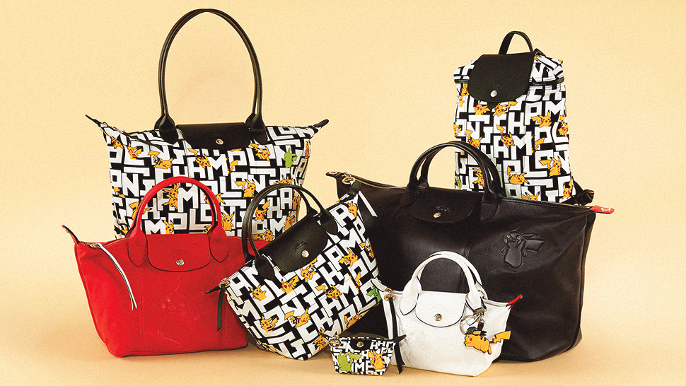 Longchamp Has a Pokemon Collection and We Wanna Catch Them All!