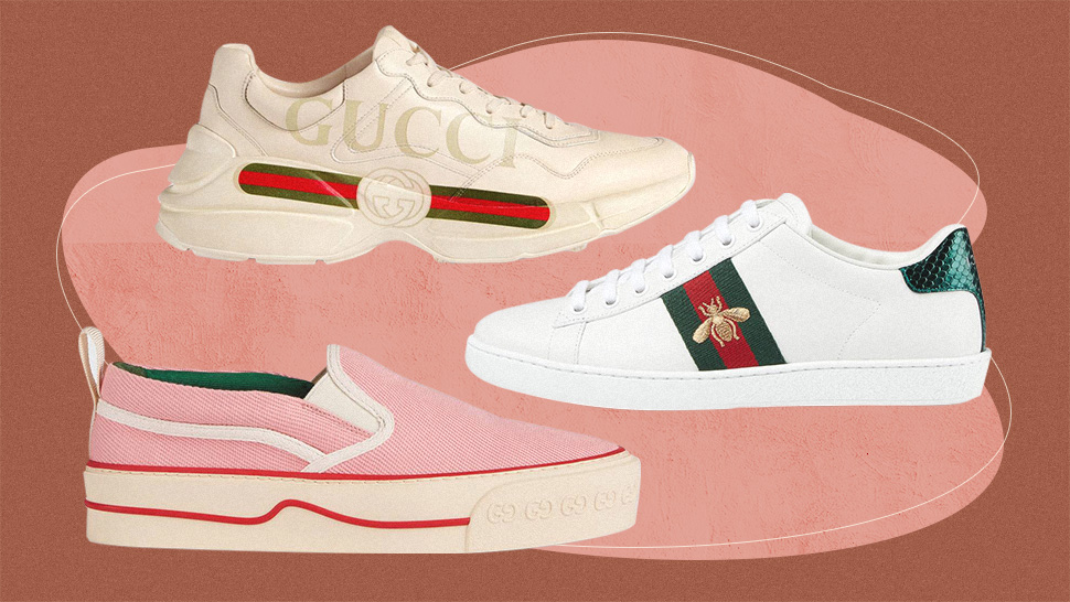 8 Gucci Sneakers You Need In Your Closet