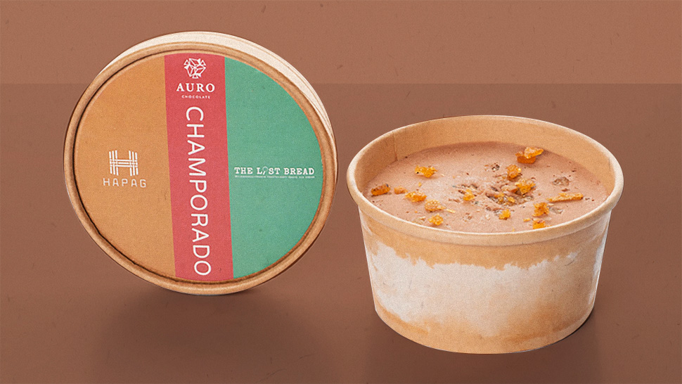 Chocoholics, You're Gonna Love This New Champorado Ice Cream
