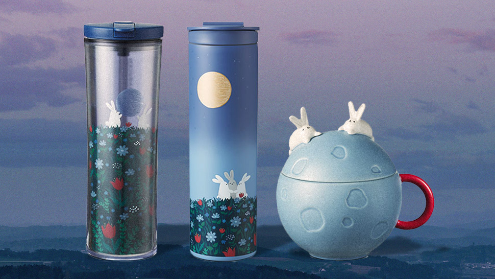 We Want Everything from Starbucks' Adorable Bunny-Themed Collection